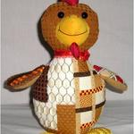 "RUSTY ROOSTER SIZE: 11"" X 11"" MESH: 18 *STITCH GUIDE INCLUDED"