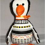 "PAULIE PENGUIN SIZE: 11"" X 11"" MESH: 13 *STITCH GUIDE INCLUDED"