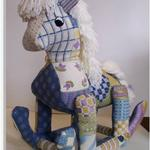 "ROCKING HORSE SIZE: 17"" X 14"" MESH: 13 *STITCH GUIDE INCLUDED"