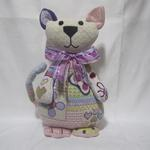 "PATCHES CAT SIZE: 14.5"" X 7.5"" MESH: 13 *STITCH GUIDE INCLUDED"
