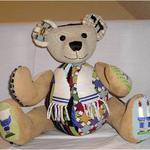 "BRANDON BEAR SIZE: 13"" X 12"" MESH: 13 *STITCH GUIDE INCLUDED"