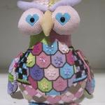 "OLIVE OWL SIZE: 10"" X 9"" MESH: 18 *STITCH GUIDE INCLUDED"