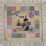 "MATZAH COVER SIZE: 12"" X 12"" MESH: 18 *STITCH GUIDE INCLUDED"