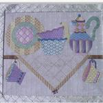 "KITCHEN SHELF SIZE: 13.5"" X 16"" MESH: 18 *STITCH GUIDE INCLUDED"